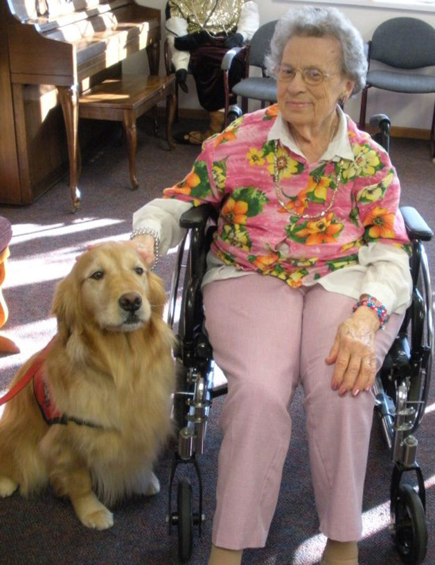 The Fearful Lady & the Therapy Dog